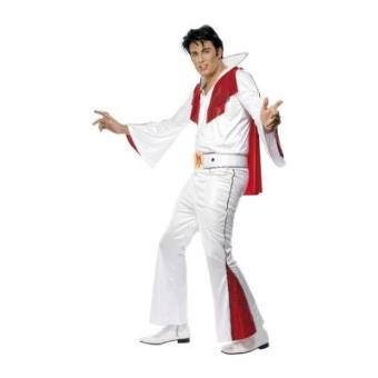 Smiffy's Disfarce adulto Elvis Presley - tamanho M