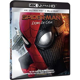 Spider-Man: Far from Home (4k Ultra HD) / Spider-Man: Lejos De Casa (2Blu-ray)