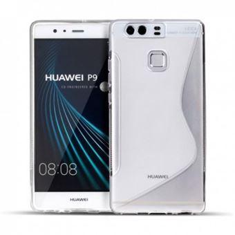 Capa Lmobile Gel S Line para Huawei P9 Transparente