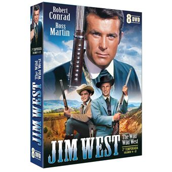 Jim West Temporada 2 (8DVD)