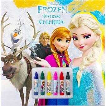 Disney. Diversão Colorida. Frozen