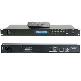 Leitor Multimédia Adastra com Cd/Usb/Sd E Sintonizador Fm