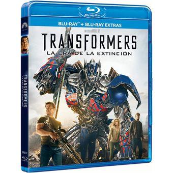 Transformers: Age of Extinction / Transformers 4: La Era de la Extincion (+ BD Extras) (Blu-ray)