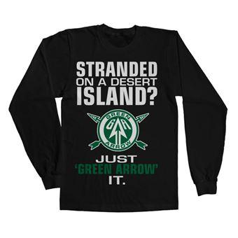 Long Sleeve Arrow - Just Green Arrow It | Preto | XXL