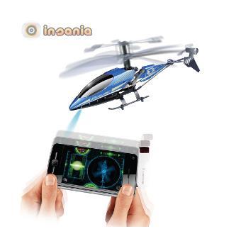 Helicóptero Telecomandado Heli Smart Control Sky 3 Canais iPod/iPhone/iPad/Android