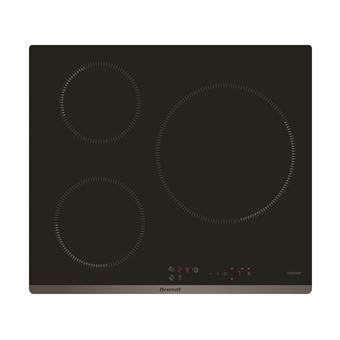 Placa de Cozinha Vitrocerâmica Encastrável Brandt BPI6315B Preto