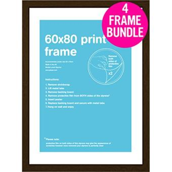Conjunto de Quadros GB Posters 60x80cm Noz