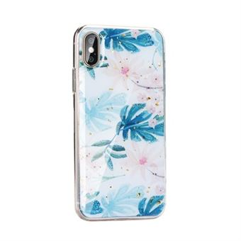 Capa Mármore Forcell para Huawei Y7 2019 Floral
