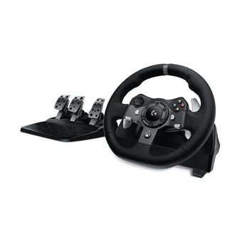 Logitech G920 Volante + Pedais PC,Xbox One Preto