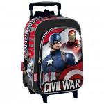 Mochila com Rodas Marvel Captain America: Civil War Justice