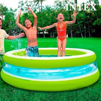 Piscina Insufl Vel Para Crian As Intex 203 Cm