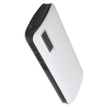 Powerbank Klack 15.000 mAh - Branco 3 USB