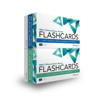 Wiley Cmaexcel Exam Review 2020 Flashcards Complete Set