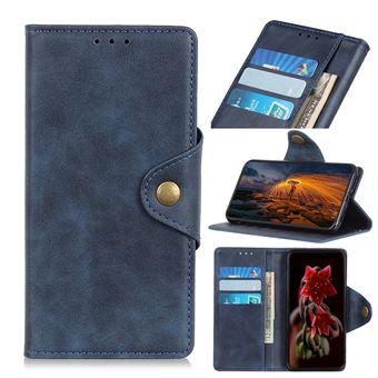 Capa Magunivers PU com suporte azul para Samsung Galaxy A40
