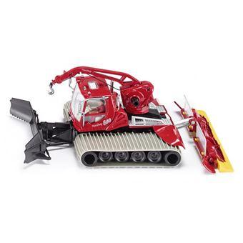 Siku Pistenbully 600 Pré-montado Modelo de limpa-neves 1:50 Preto e Cinzento e Vermelho