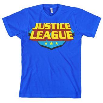 T-shirt Justice League Classic Logo | Azul | S