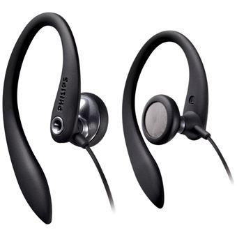 Auriculares Philips Fones de ouvido SHS3300BK/10 Preto