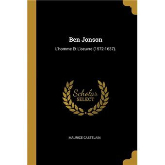 ben Jonson Paperback -