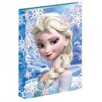 Dossier com Argolas A4 Frozen Disney Heart
