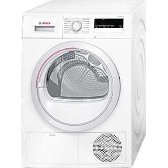 Máquina de Lavar Roupa Bosch Serie 4 WTH85200ES Isolado Carregamento frontal 8kg A++ Branco