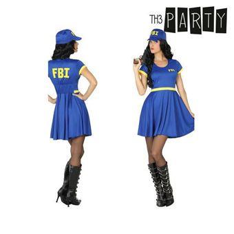 Disfarce para Adultos Th3 Party Polícia fbi M/L