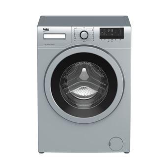 Máquina de Lavar Roupa Carga Frontal Beko WTE 7532 BCX 7Kg A+++ Inox