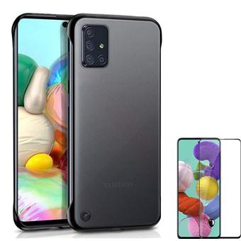 Kit Película de Vidro Phonecare 5D Full Cover + Capa Naked Bumper para Samsnug Galaxy Note 10 Lite - Transparente e Preto