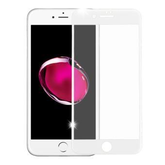 Película de Vidro Temperado Full Branco Accetel para Iphone 8 Plus 0,33Mm