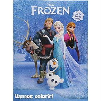 Disney Frozen. Vamos Colorir