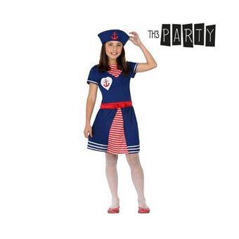 Disfarce para Crianças Th3 Party Marinheira 5-6 anos