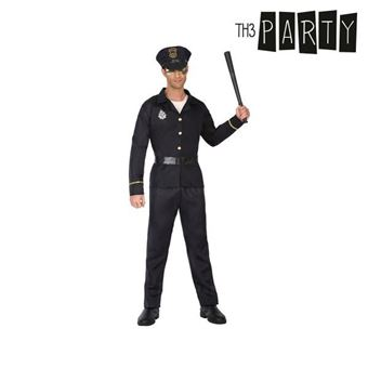 Disfarce para Adultos Th3 Party Polícia homem XS/S