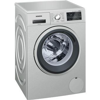 Máquina de Lavar Roupa Carga Frontal Siemens WM12T49XES 8Kg A+++ Inox