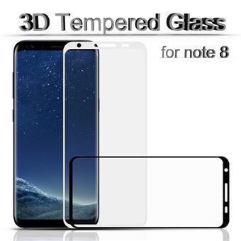 Películas de Vidro Temperado Best suit 3D Premium para Samsung Galaxy Note 8 Preto