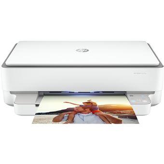 Impressora Multifunções HP ENVY 6020e | 7 ppm | Wi-Fi | Cinzento, Branco