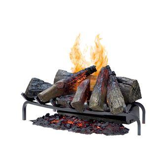 Dimplex Silverton Log insert fireplace Eléctrico Preto