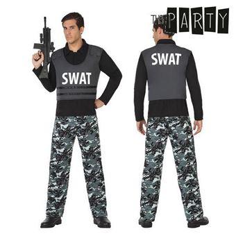 Disfarce para Adultos Th3 Party Polícia swat M/L