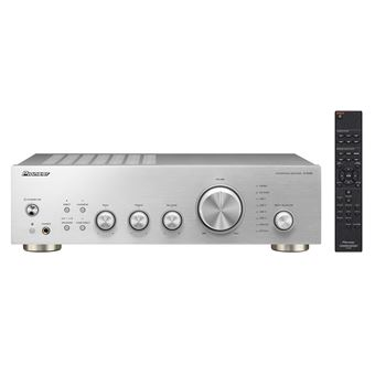 Pioneer A-40AE-S Prateado amplificador de áudio