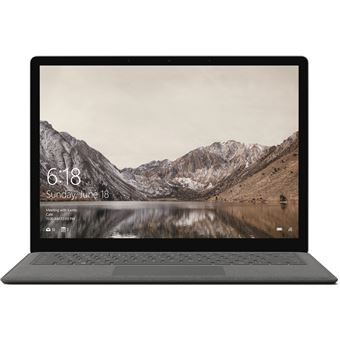 "Microsoft Surface Laptop 8GB SSD 256GB 668 13.5"" Grafite"