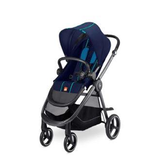 Carrinho de bebé GB 616221004   tradicional 1 lugar(es) Preto, Azul