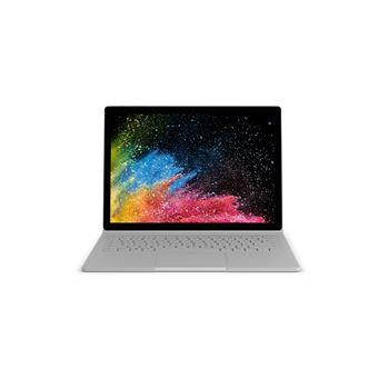 """Portátil Híbrido Microsoft Surface Book 2 2 i7 16GB SSD 512GB 13.5"""""""" Prateado"""