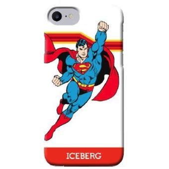 Capa de Telemóvel Iceberg DC Comics Soft Case Superman para iPhone 8/7/6s/6 Flying