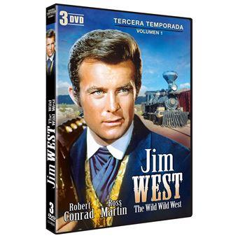 Jim West - The Wild Wild West -Temporada 3 Parte 1 (3DVD)
