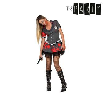 Disfarce para Adultos Th3 Party Polícia zombie XS/S