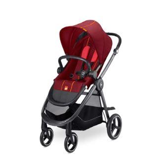 Carrinho de bebé GB 616221003   tradicional 1 lugar(es) Preto, Vermelho