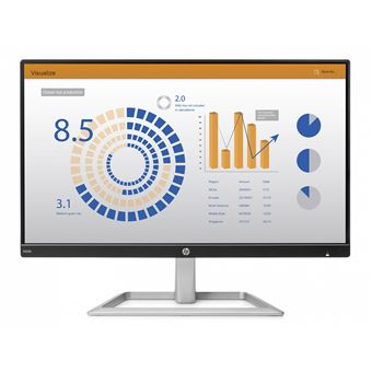 "Monitor HP N220 LED 54,6 cm (21.5"""") Full HD Preto, Prateado"