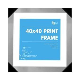 Conjunto de Quadros GB Posters 40x40cm Prata