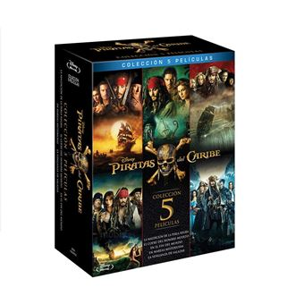Pirates of the Caribbean 1 - 5 / Piratas del Caribe (5Blu-ray)