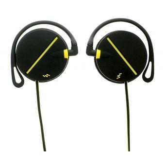 Auriculares T'nB CSSPCLIP Preto, Amarelo