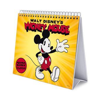 Calendário de Escritório Deluxe 2020 Grupo Erik Disney Mickey