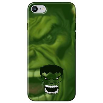 Capa Personalizada MakeUCase para iPhone 7 Hulk SH05 Transparente